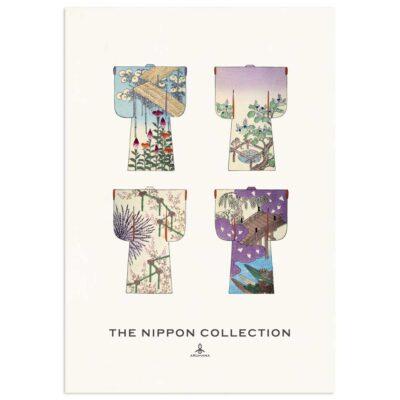 Plakat - The Nippon Collection 1 - Japanske kimono designs 70x100cm