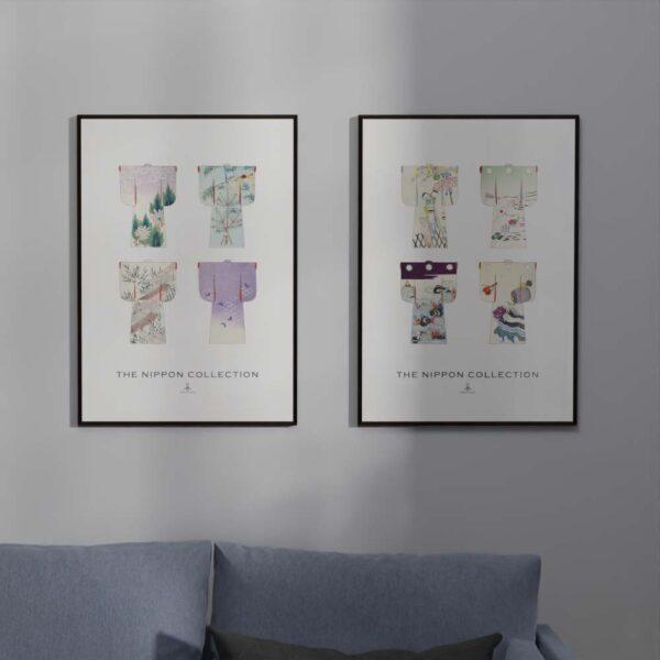 Plakat - The Nippon Collection 3 - Japanske kimono designs