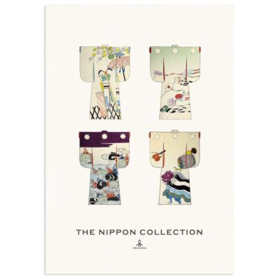 Plakat - The Nippon Collection 2 - Japanske kimono designs 70x100cm