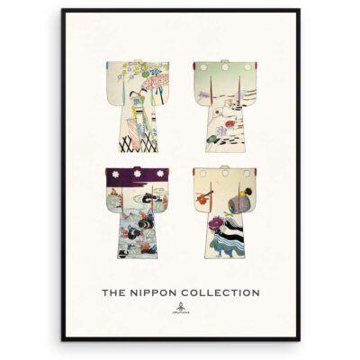 Plakat - The Nippon Collection 2 - Japanske kimono designs - Aruhana