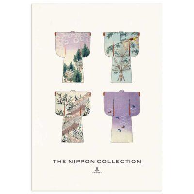 Plakat - The Nippon Collection 3 - Japanske kimono designs 70x100cm
