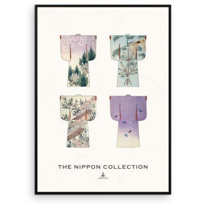 Plakat - The Nippon Collection 3 - Japanske kimono designs - Aruhana