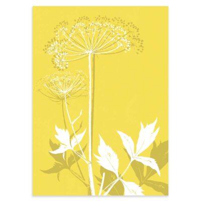 Plakat - Kvan - Illuminating Yellow 50x70cm