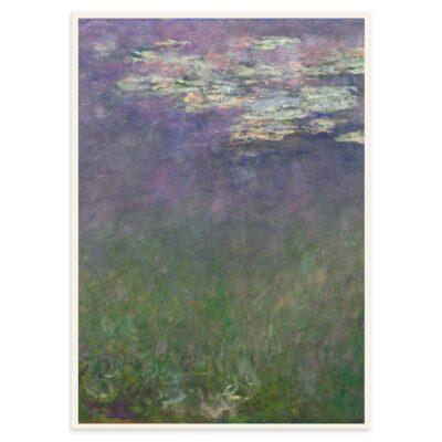 Plakat - Åkanderne af Claude Monet - 2 - 50x70cm