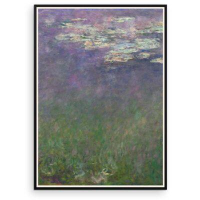 Plakat - Åkanderne af Claude Monet - 2 - Aruhana