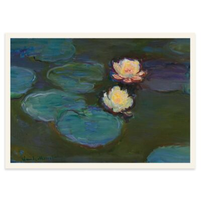 Åkander- Nympheas - Claude Monet plakat 50x70cm