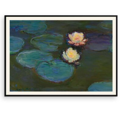 Åkander- Nympheas - Claude Monet plakat - Aruhana