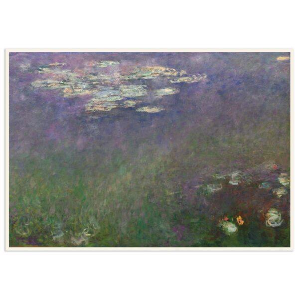 Plakat - Åkander - Claude Monet - 2 - 70x100cm