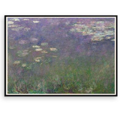 Plakat - Åkander - Claude Monet 1 - Aruhana
