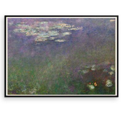 Plakat - Åkander - Claude Monet - 2 - Aruhana