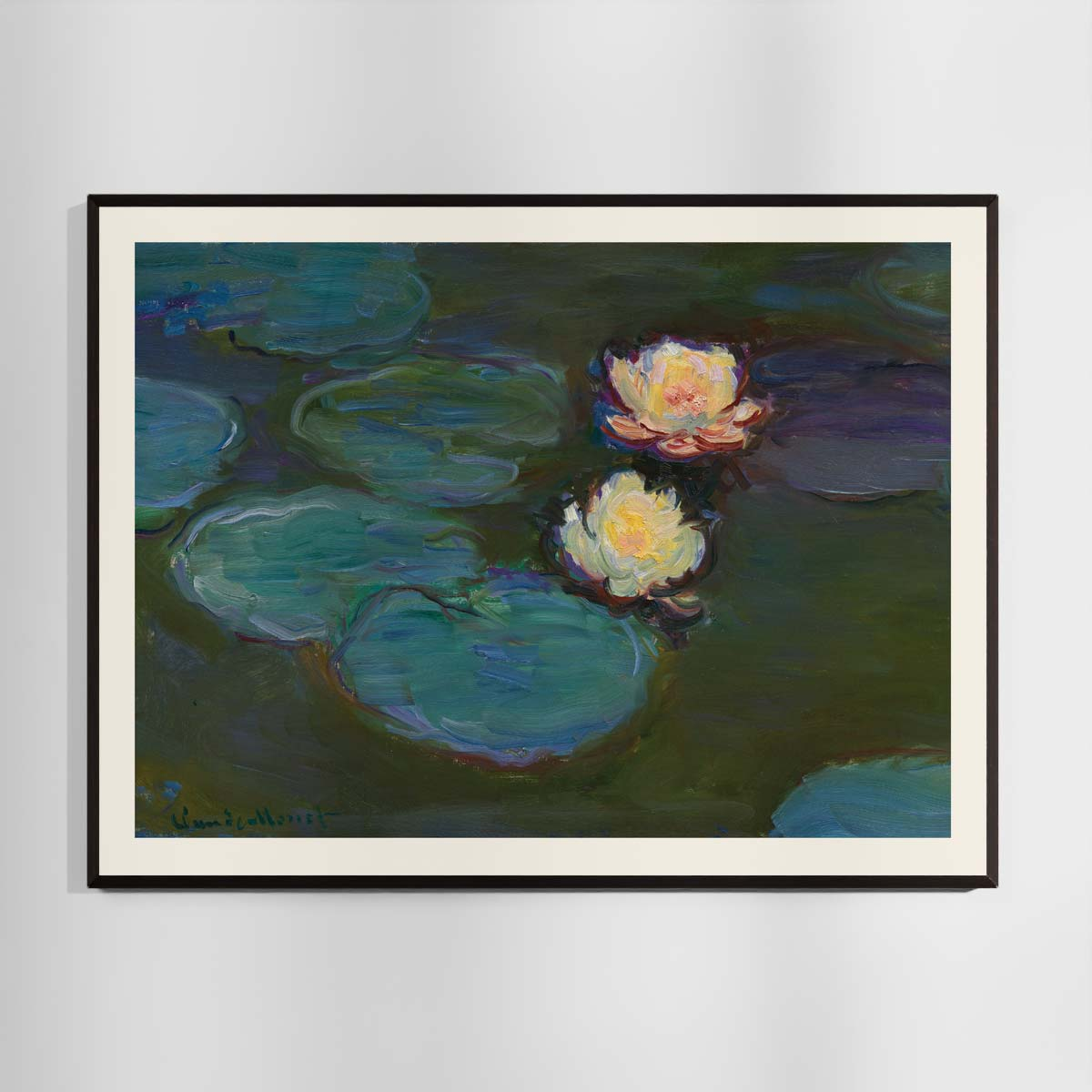 Åkander- Nympheas - Claude Monet plakat