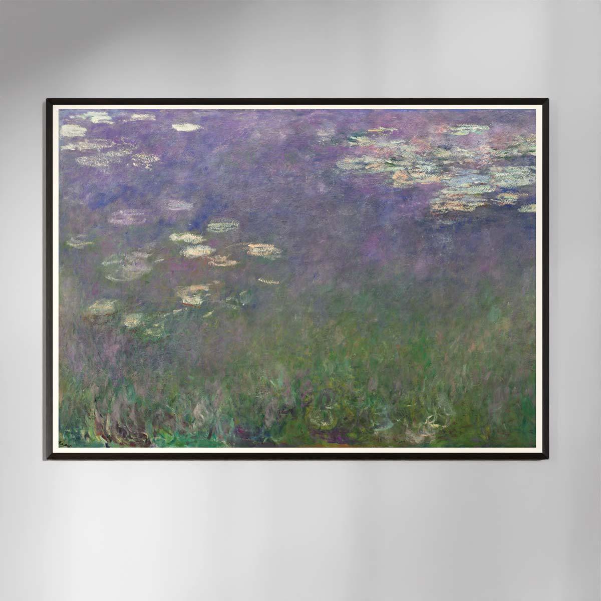Plakat - Åkander - Claude Monet 1
