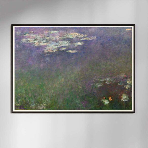 Plakat - Åkander - Claude Monet - 2