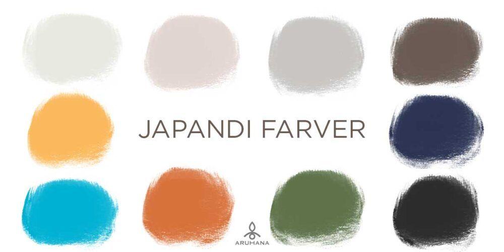 Japandi Farve-trends - Aruhana