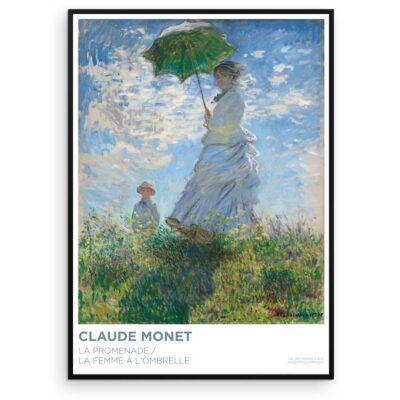Claude Monet - Kvinde med parasol - Aruhana