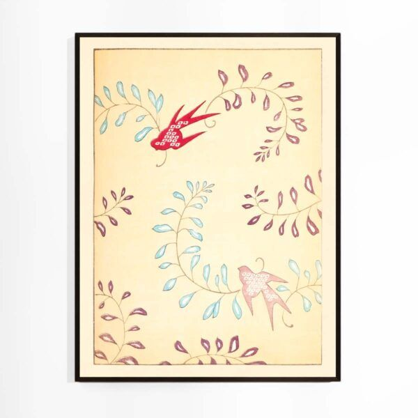 Fugle og Ranker - Shin Bijutsukai plakat Aruhana