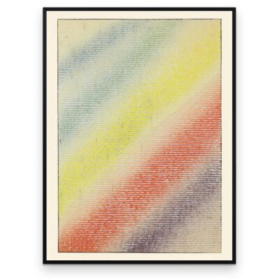 Regnbueglimt - Shin Bijutsukai plakat - Aruhana