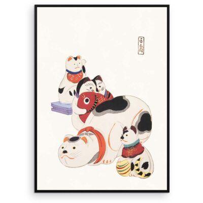 Japansk plakat - Katte-kolleger - Aruhana